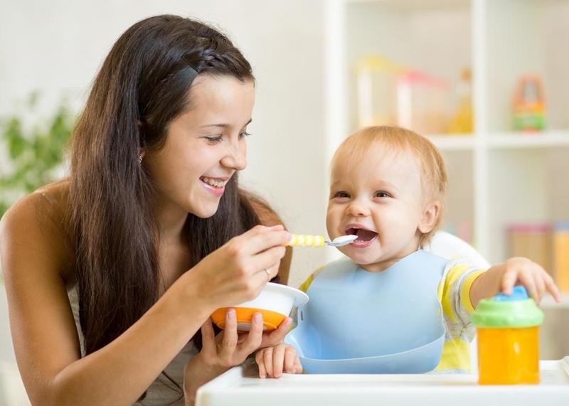 Make sure you bring along enough baby food.