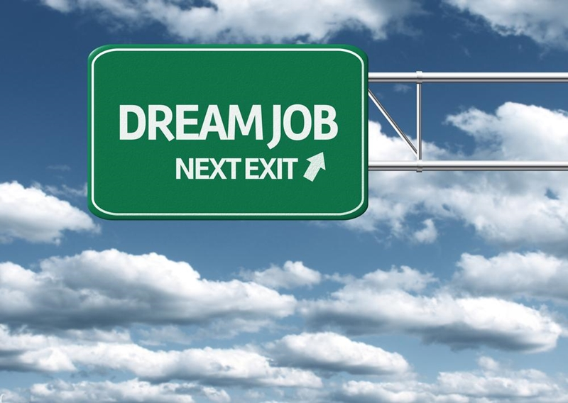 Perseverance and a positive attitude will help you find your dream career.