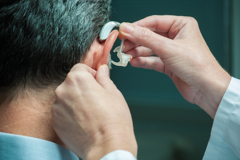 Not everyone who could benefit from hearing aids actually wears them.