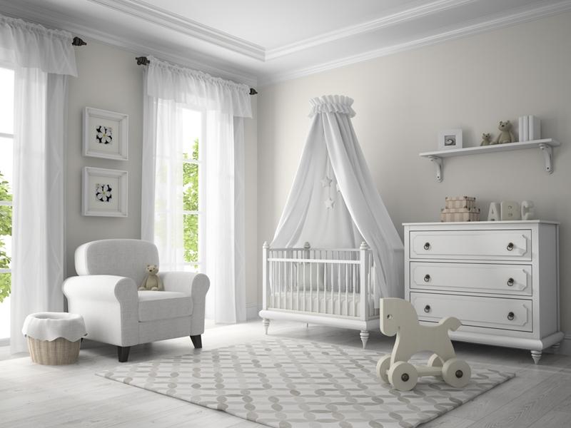 Ensure your kid's bedroom is safe from hazards.