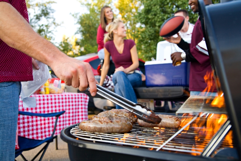 The best kind of BBQ is one with friends and family.