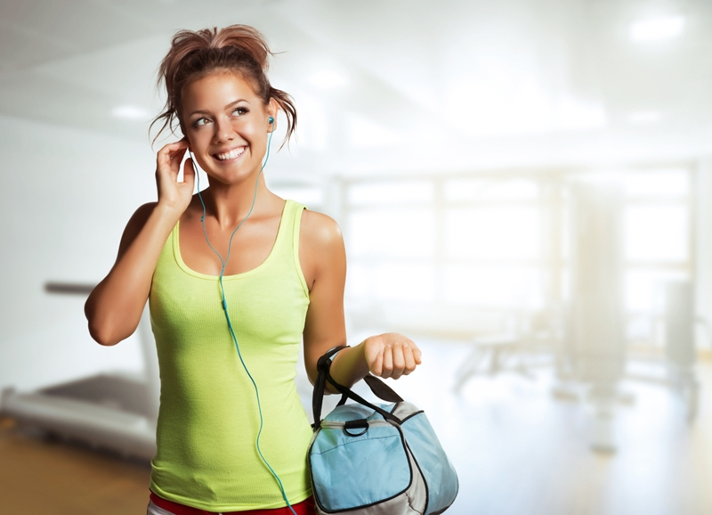 Listening to loud music while exercising can harm your hearing.