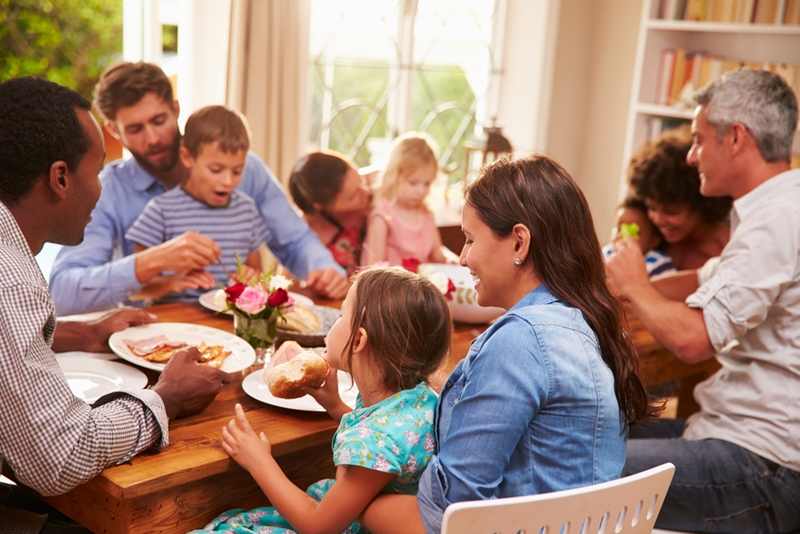From a social development perspective, family meals are essential.