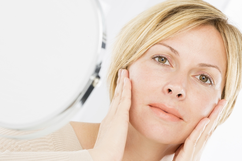 Cosmeceuticals can help to target some of the signs of menopausal skin.