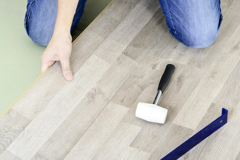 Hardwood floors look great, and can keep asthma-triggering allergens away - as long as they're cleaned regularly.