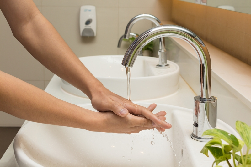 Keeping hands clean is just one way to make sure occupants of a building are being hygienic.