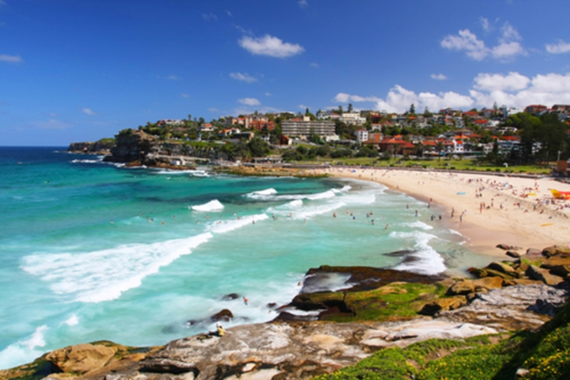 Bondi Beach is one of the best surf spots in the country.
