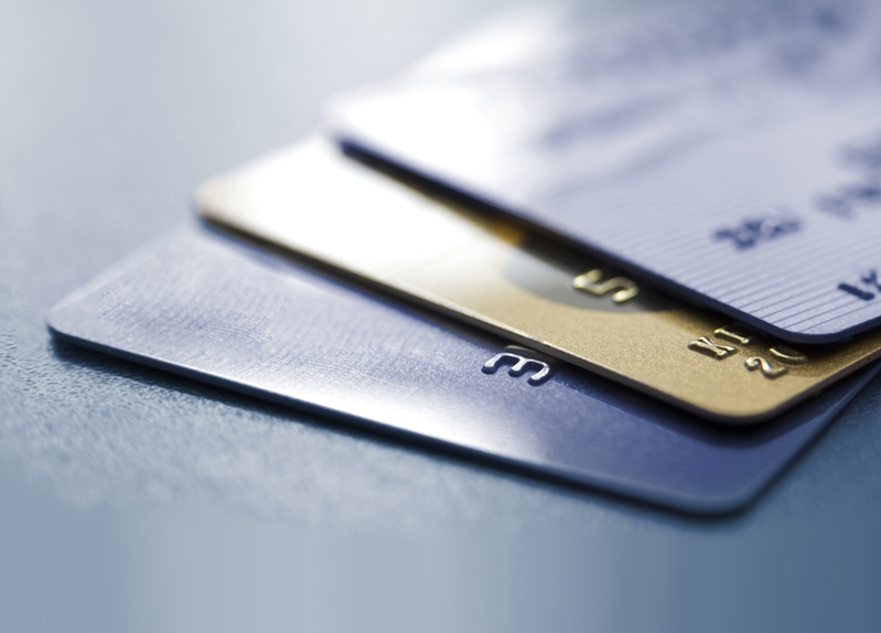 It's safer to carry bank cards than large sums of cash.