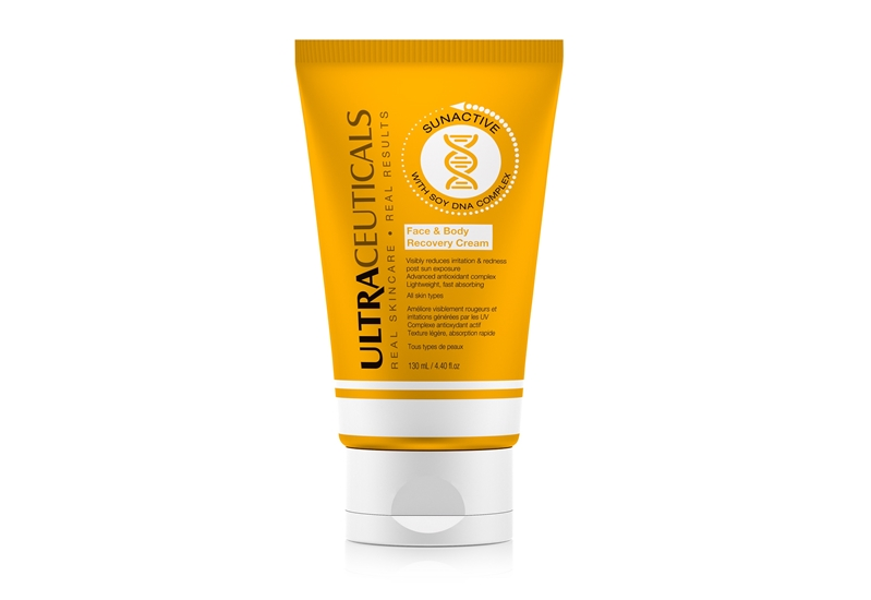 SunActive Face & Body Recovery Cream can help to soothe the effects of sunburn.