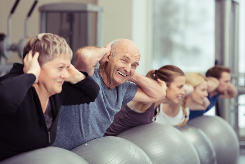 Seniors can hugely benefit form exercise classes.
