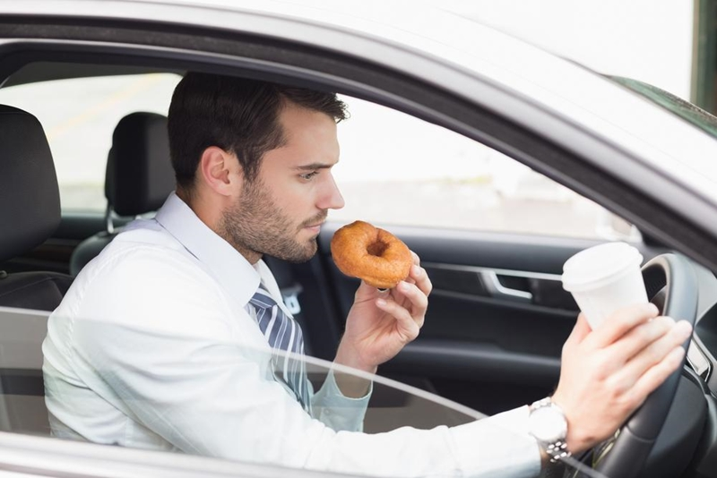 The distractions aren't just for drivers anymore.