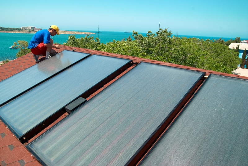 Installing solar panels on your home can save you a lot of money on future power bills.