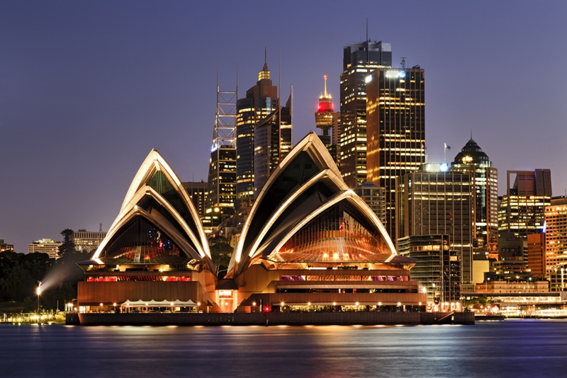 Sydney is an example of a city being built for sustainability.