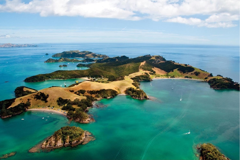 The Bay of Island's is one of New Zealand's most beautiful yachting destinations.