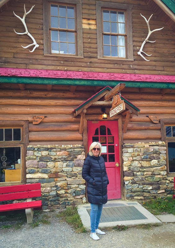 The Rockies were full of charm for Travel Manager Jo Gostin.