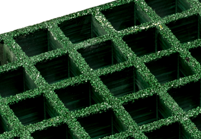 Our Fibre Reinforced Plastic grating is highly resistant to corrosive chemicals.