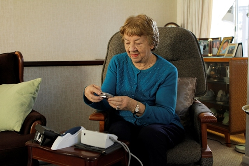 Connected health solutions allow patients to monitor their health from the comfort of their own home.