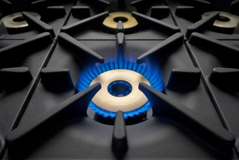 Gas cookers are known for their powerful heating ability.