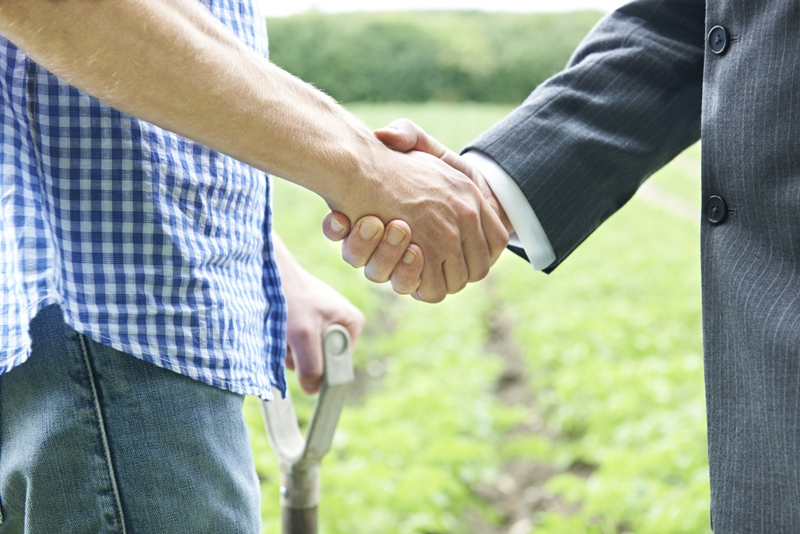 By working together, agriculture businesses can manage risk more easily.