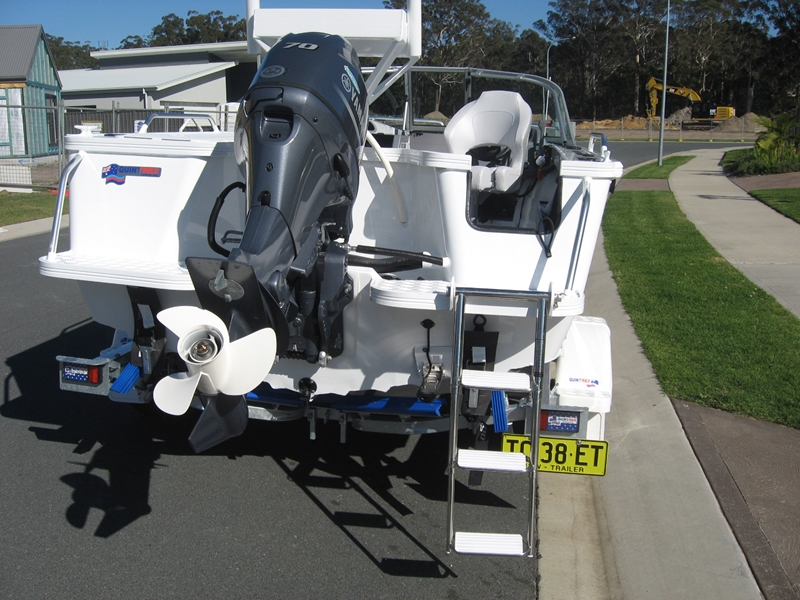 Keeping your motor in good nick can maintain the value of your boat.