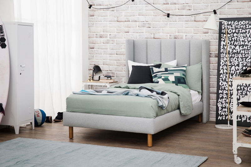 Our Soho Mini king single bed provides just the right amount of  grown-up' vibe.