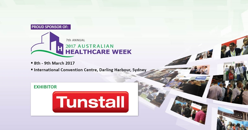 Tunstall is looking forward to exhibiting at this year's Healthcare Week.