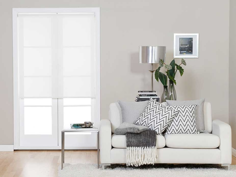 Roller blinds offer protection against the sun to keep your fabrics safe from fading.