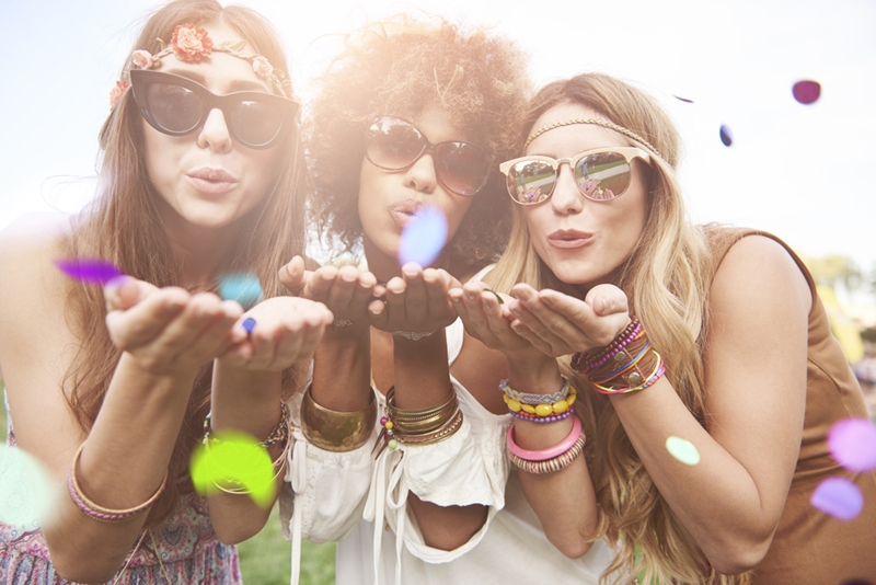 Coachella is a chance for you to express your personal style.