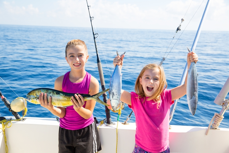 Taking your family out on the water is a great chance to teach your kids about safety - and fishing!