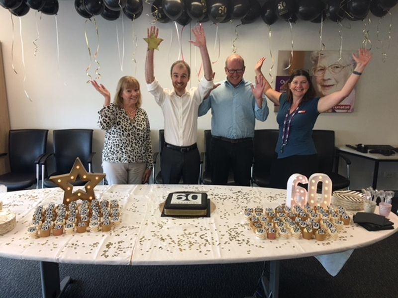 As Tunstall celebrates 60 years, we are happy to see our team grow in confidence and pride in the workplace.