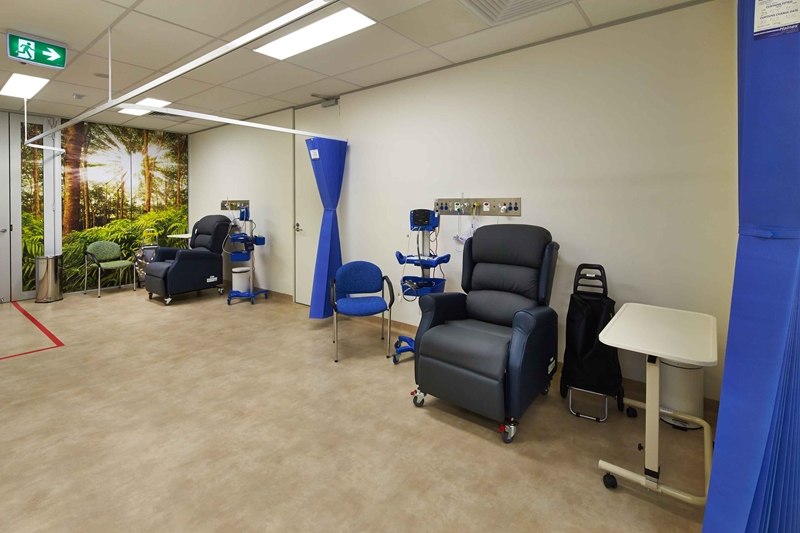 What elements make the perfect recovery room?