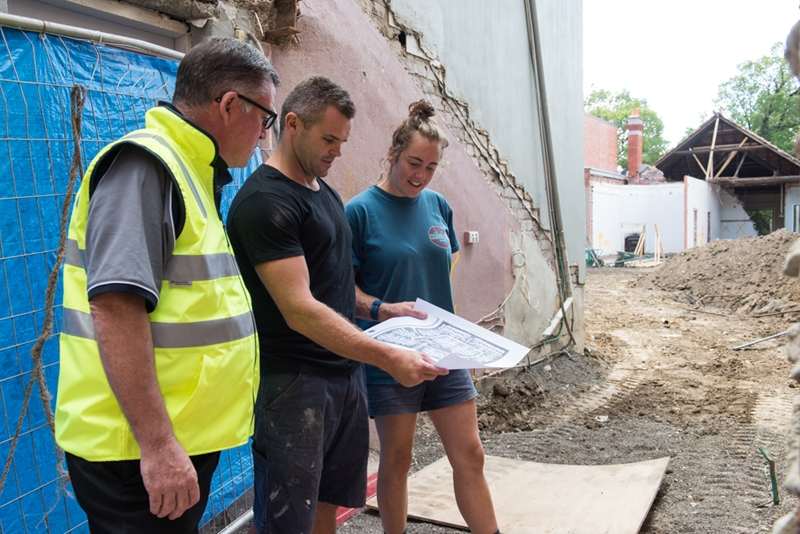 Working with experienced contractors is the best way to grow your skill set.