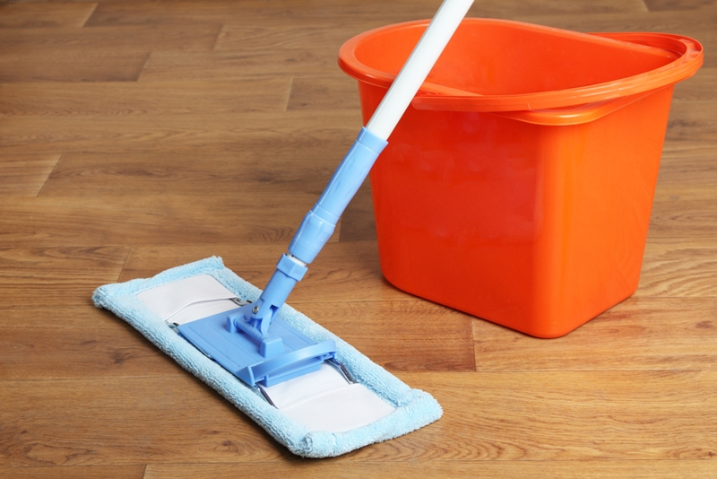 With the right solution, you can mop off all mud and dirt.