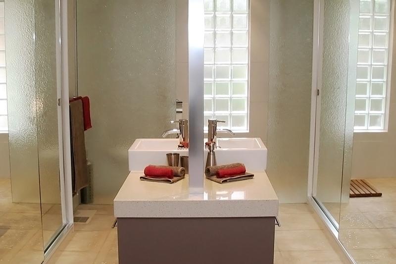 Open plan bathroom bedrooms are a growing trend.