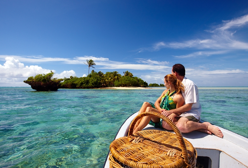 Sail away to your own private paradise island.
