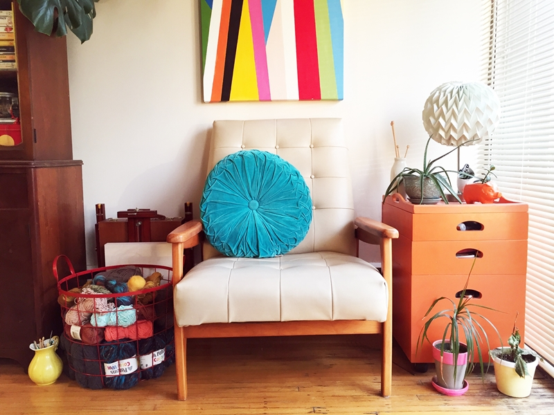 Give your home a spring transformation with colour, plants and lighter fabrics.