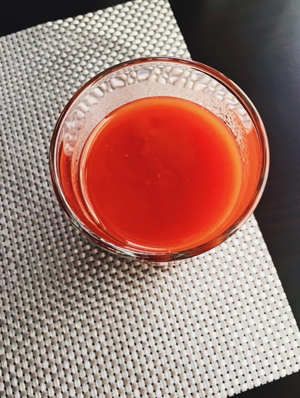 Could this be the reason why we crave tomato juice while flying?