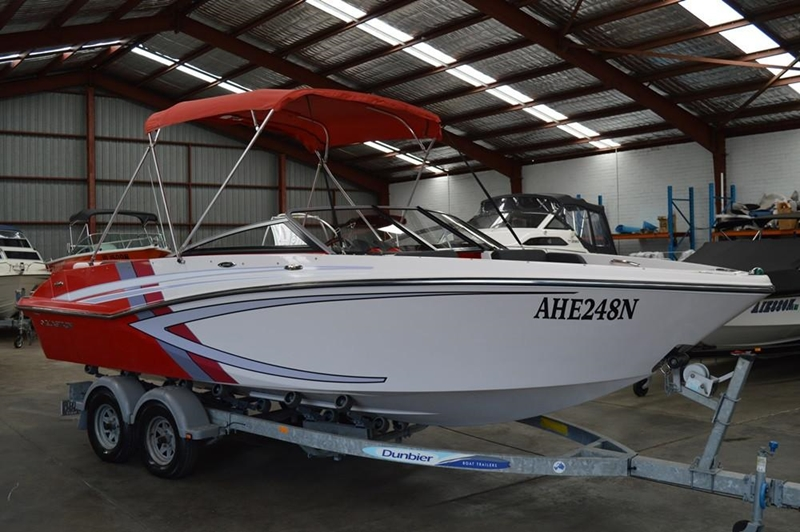 The Glastron GTS205 is a powerful and versatile boat.