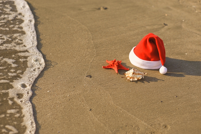 Enjoy spending Christmas at the Jean-Michel Cousteau Resort.