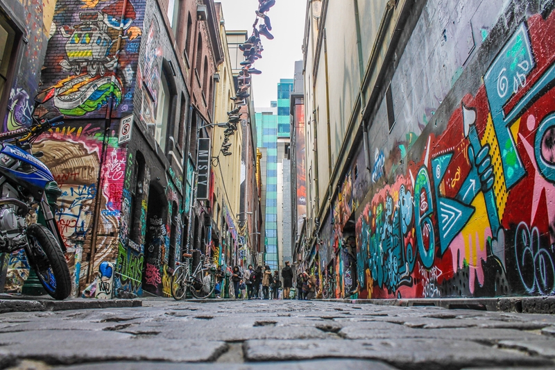 Melbourne's housing market sentiment is looking just as good as the city's famous laneways.