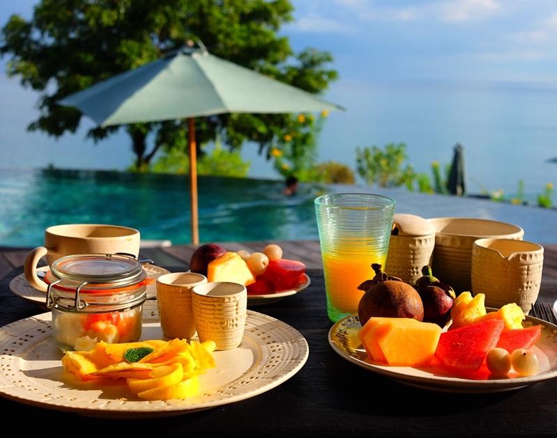 Bring Bali into your backyard with a green sukabumi swimming pool.