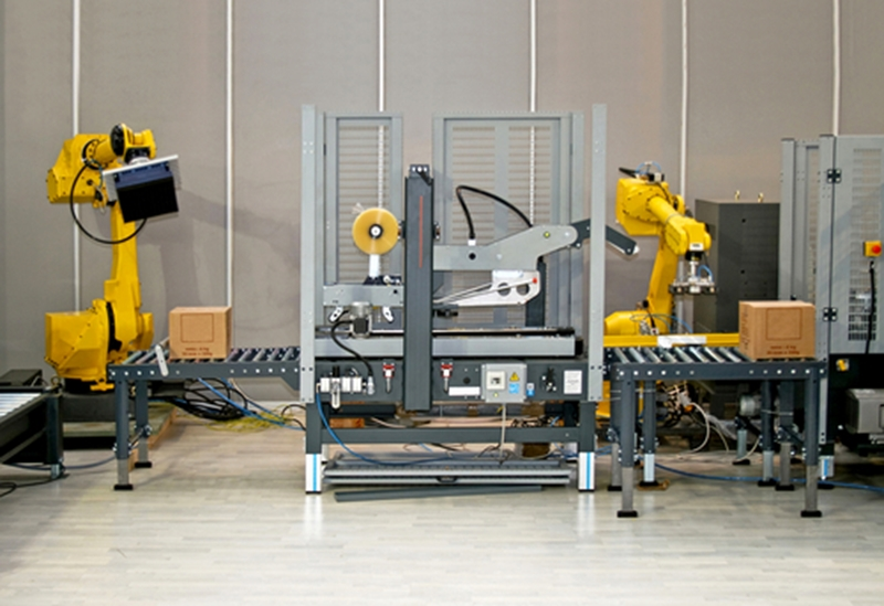 A fully automated warehouse is far more efficient than one manned by humans.