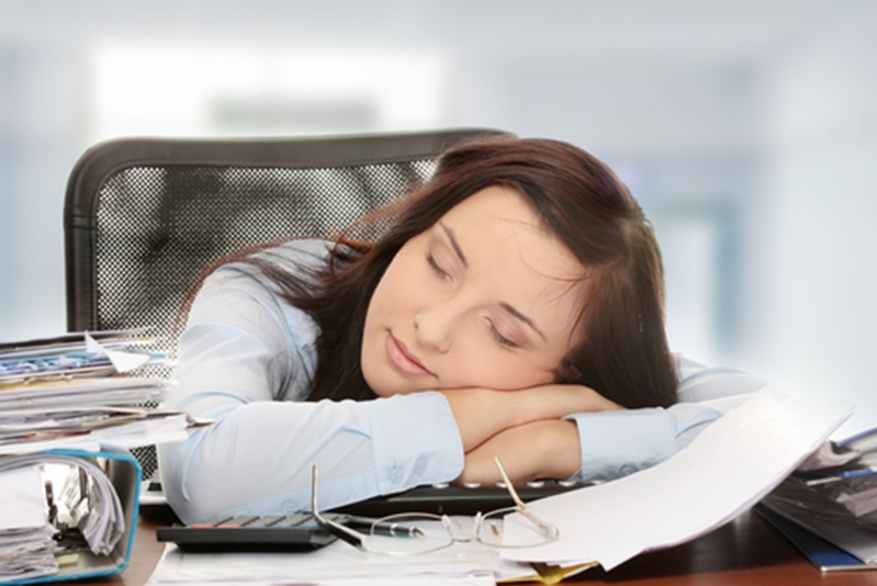 Taking a nap can help workers take in information.