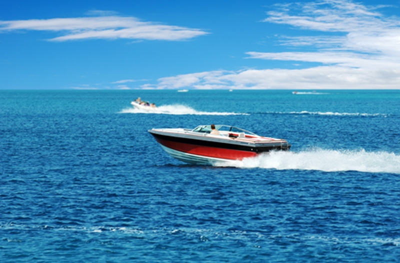 A speedometer helps you drive your boat at safe speeds.