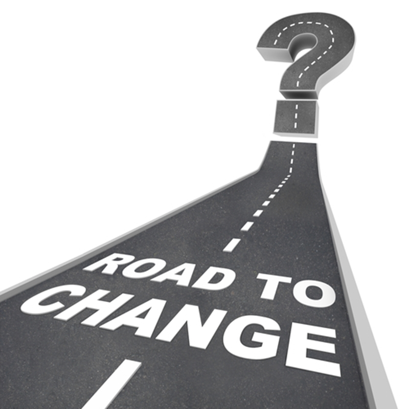 The road to change can be intimidating but it is necessary for growth.