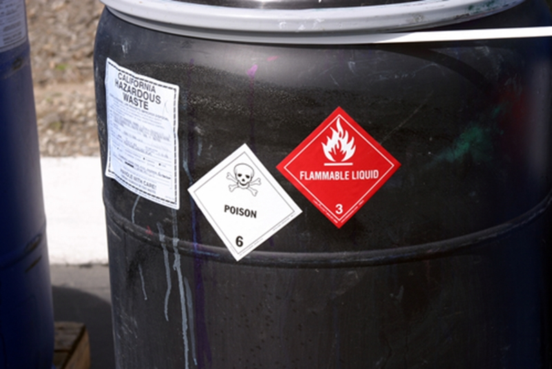 Appropriate spill containment measures must be in place when dealing with hazardous or flammable chemicals .