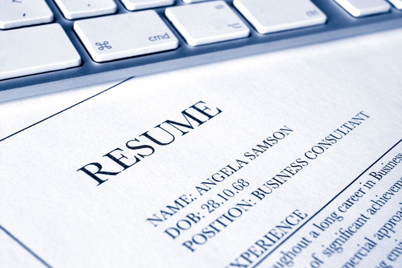 Employers may spend as little as six seconds on your CV.