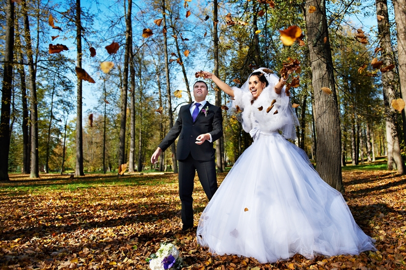 Don't forget to have fun with your wedding photos!