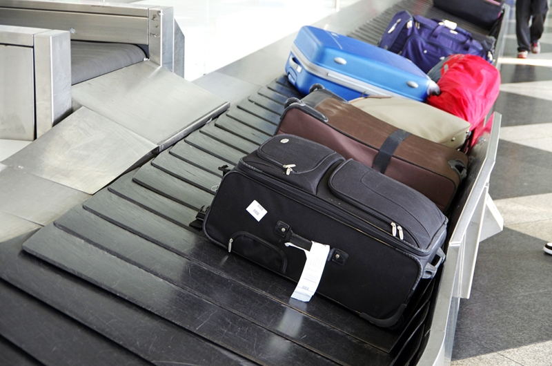 Don't leave your bags unsupervised, even if you have travel insurance.
