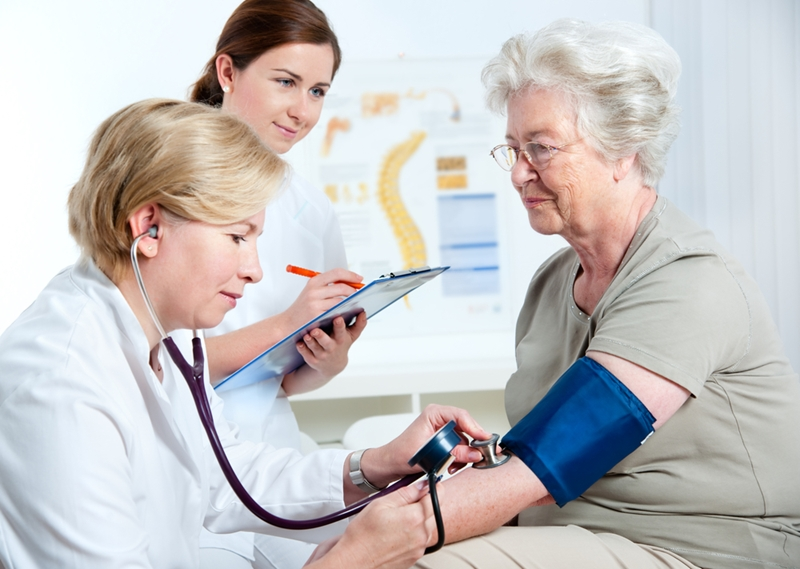 High blood pressure contributes to heart disease risk.